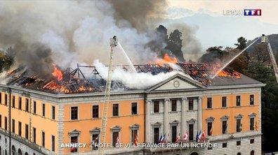 Incendie de l'hôtel de Ville à Annecy : un accident, selon la préfecture
