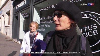 Incendie de l'usine Lubrizol à Rouen : alerte aux faux prélèvements