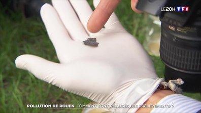 Incendie de l'usine Lubrizol à Rouen : comment sont réalisés les prélèvements ?