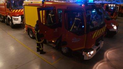 Incendie - La mobilisation des pompiers Sétois