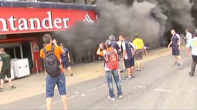 Vidéo : l'incendie du stand Williams F1 à Barcelone