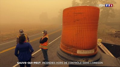Incendies dans l'Oregon : les habitants menacés par des fumées toxiques