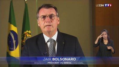Incendies en Amazonie : Jair Bolsonaro envoie l'armée en renfort
