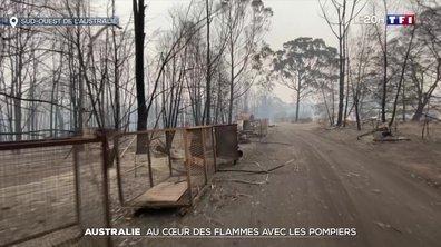 Incendies en Australie : les pompiers tentent de sauver ce qu'ils peuvent