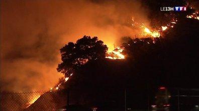 Incendies en Californie : cent mille personnes évacuées et des centaines de milliers d'autres privées d'électricité
