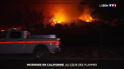 La Californie ravagée par les incendies : des évacuations au cœur des flammes