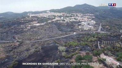 Incendies en Sardaigne : le feu maîtrisé
