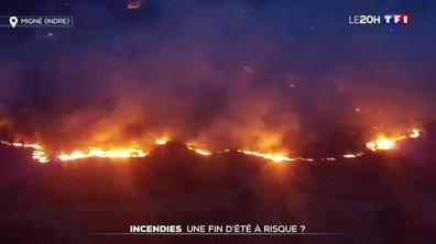Incendies : une fin d'été à risque ?