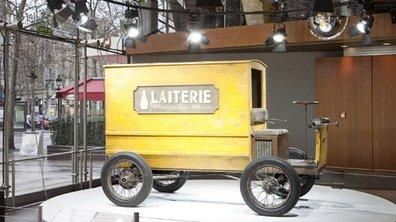 100 ans d'utilitaire Renault exposé à l'Atelier des Champs Elysées