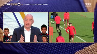"[EXCLU Téléfoot – 9/12] - Infantino sur les Football Leaks et le Fair-Play Financier : ""Pas possible de magouiller"""