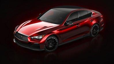 Infiniti Q50 Eau Rouge Concept 2014 : 1ères photos de la version sportive