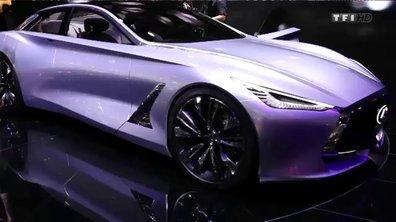 Infiniti Q80 Inspiration Concept, le top model Japonais -  Mondial de l'Automobile 2014