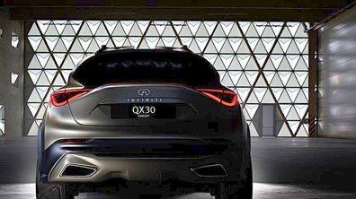 Infiniti QX30 Concept 2015 : une première image pour le futur crossover