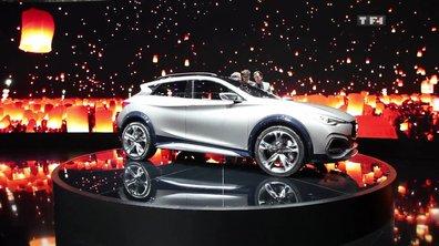 Infiniti QX30 Concept, le crossover compact préfiguré au Salon de Genève 2015
