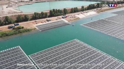 Innovation : pourquoi faire flotter les panneaux solaires ?