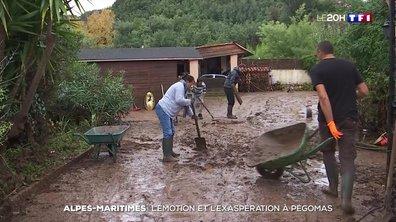 Inondations à Pégomas : l'émotion et l'exaspération des habitants
