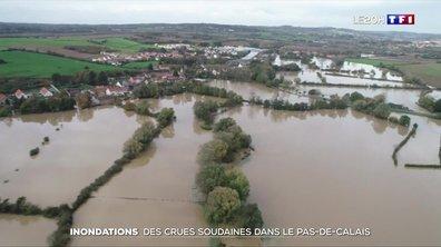 Inondations dans le Nord pas de Calais