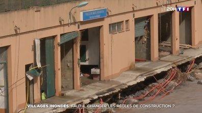 Inondations dans le Sud-Est : faut-il changer les règles de construction ?