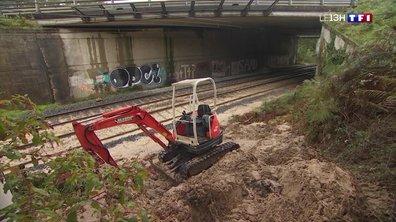 Inondations dans les Landes : les voies ferroviaires fermées