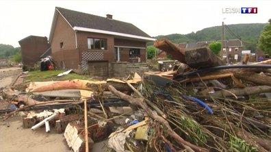 Inondations : des dégâts colossaux en Belgique