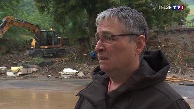 Inondations en Allemagne : des habitants stressés et abattus