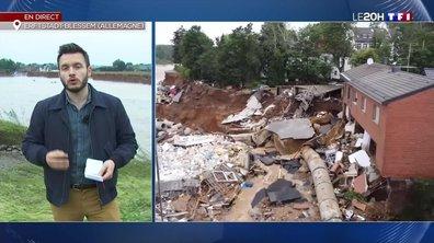 Inondations en Allemagne : la recherche des disparus se poursuit à Erftstadt-Blessem