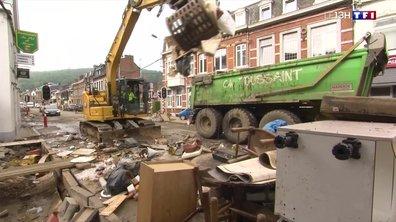 Inondations en Belgique : place au nettoyage et au défi de la reconstruction