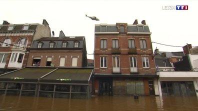 Inondations en Belgique : situation critique à Pepinster