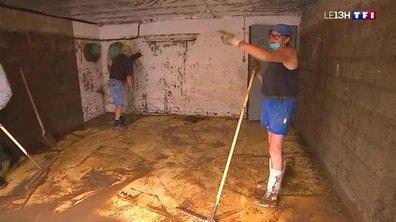 Inondations en Seine-Maritime : après l'orage, l'heure est au nettoyage