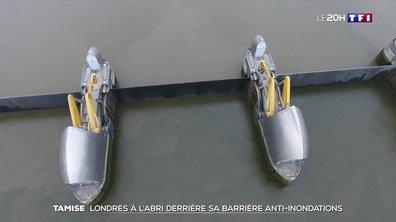 Inondations : Londres à l'abri derrière sa barrière sur la Tamise