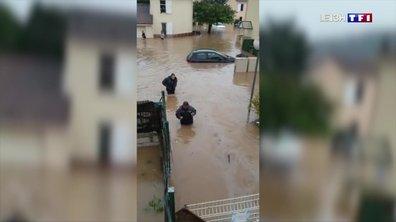 Inondations : plusieurs quartiers fermés à Brignoles