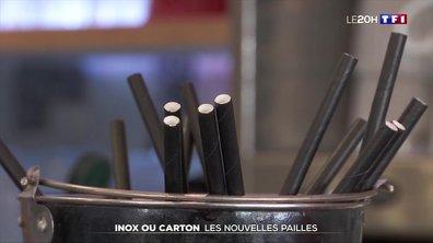 Inox ou carton : les nouvelles pailles