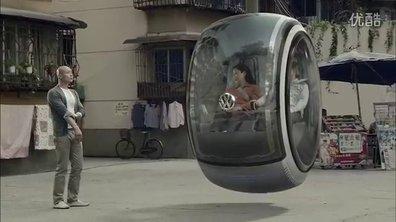 Insolite : la voiture du futur selon Volkswagen