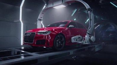 Insolite : l'étrange naissance de l'Audi RS 3 Sportback