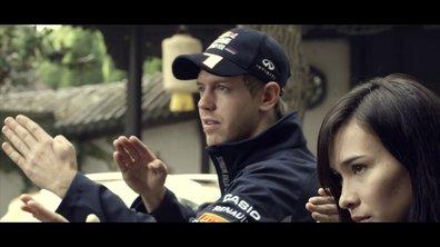 Vidéo : Vettel se met au kung-fu pour Infiniti