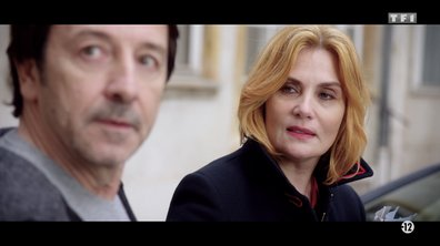 """Emmanuelle Seigner, Melvil Poupaud et Jean-Hugues Anglade présentent """"Insoupçonnable"""""""