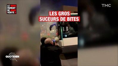 """Insultes homophobes à la RATP : """"On ne fait que répéter les paroles d'une chanson"""" de Vegedream, explique un chauffeur"""