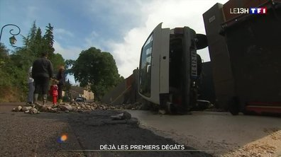 Intempéries dans le Gard : déjà les premiers dégâts