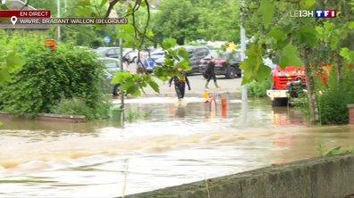 Intempéries en Belgique : des évacuations toujours en cours
