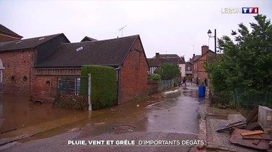 Intempéries : les images de la France balayée par de violents orages