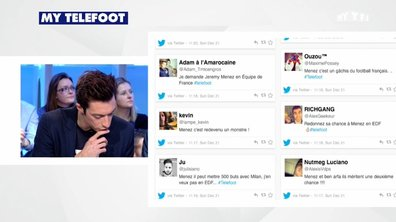 MyTELEFOOT - Interactions : Ménez de retour en Bleu ?