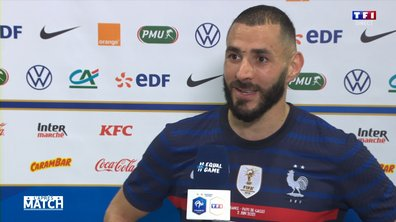 "Benzema : ""Je me suis bien senti"""