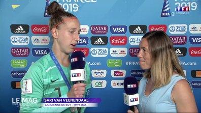 """Van Veenendaal : """"Nous avons joué contre une équipe de classe mondiale"""""""