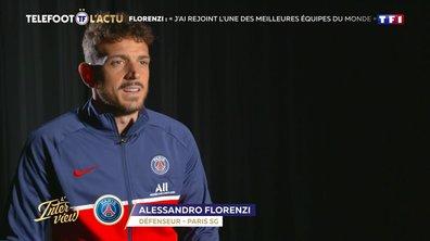 """L'Interview - Florenzi : """"J'ai rejoint l'une des meilleures équipes du monde"""""""
