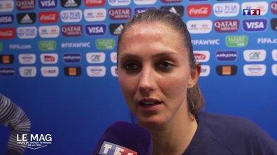 """France - Eve Périsset : """"On a fait un très beau match"""""""