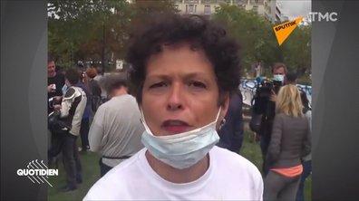 """""""Inutile"""" ou """"acte de soumission"""" : les arguments des anti-masques à travers le monde"""