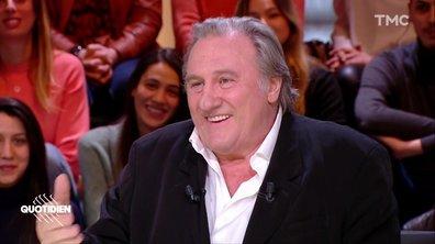 """Invité : Gérard Depardieu, pour """"Convoi exceptionnel"""""""