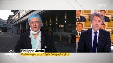"""Invité :  """"Le combat n'est pas terminé"""", Philippe Juvin décrypte les dernières annonces d'Emmanuel Macron"""