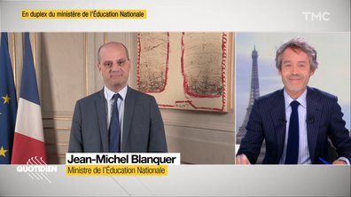 Invité : le ministre de l'Education, Jean-Michel Blanquer