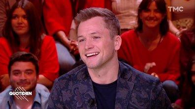 """Invité : Taron Egerton est Elton John dans le film événement """"Rocket Man"""""""